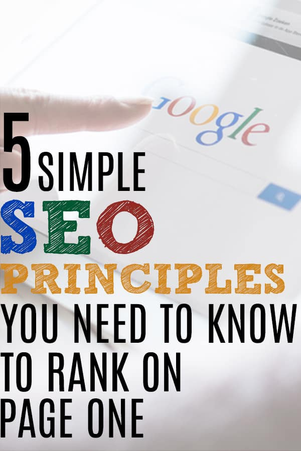 seo tips for ranking on google