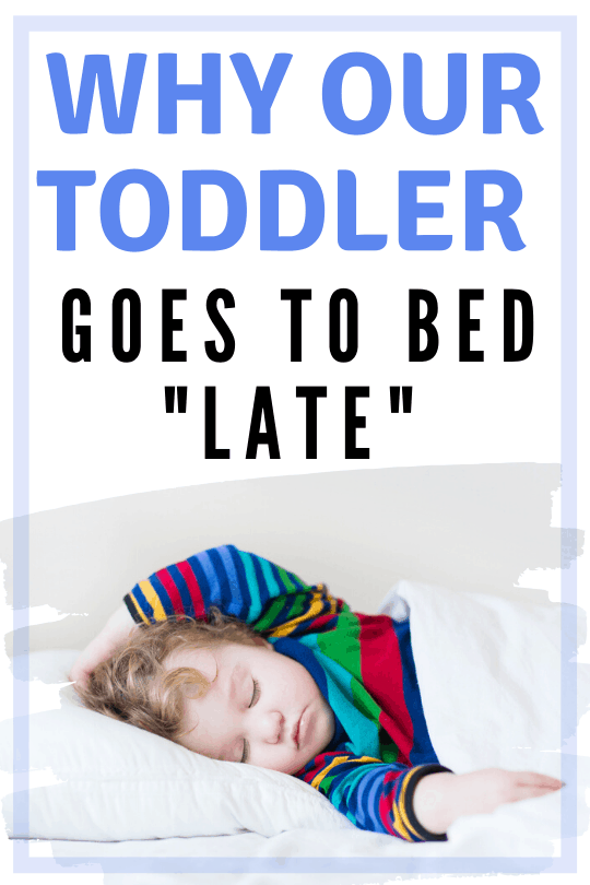 Toddler sleep - Struggling with a late bed time for your toddler? Maybe you can work WITH that and it won't be such a problem? If you put your toddler to bed early and it's just a battle, try this!