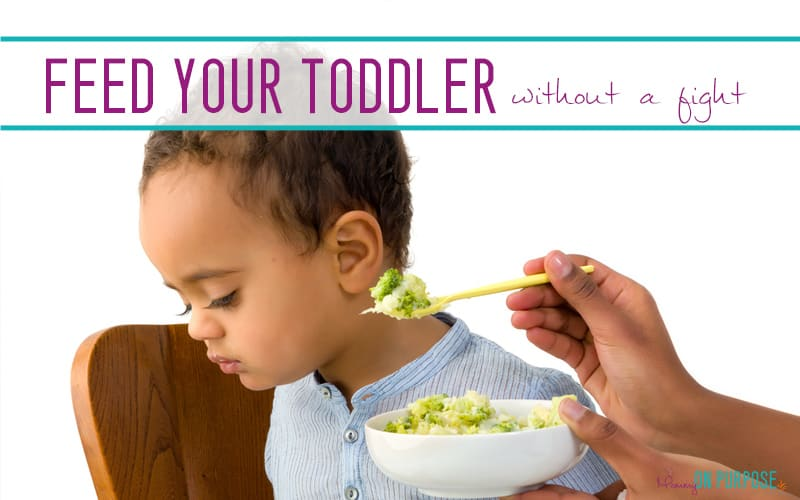 How to Feed Your Toddler Without a Fight