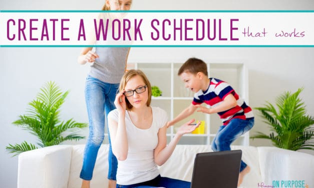 Tips for Creating a Bullet-Proof Work at Home Mom Schedule