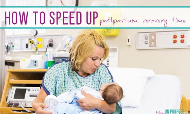 How to Speed Up Postpartum Recovery Times