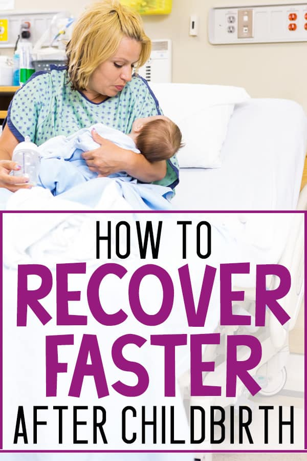 peed up postpartum recovery and healing times