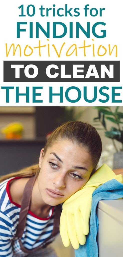 These tips for finding motivation to clean the house are awesome! So practical. If you struggle with cleaning and organizing, this will help. Number 4 works the best for me! #cleaning #organizing #organization #momlife #home #cleaningtips