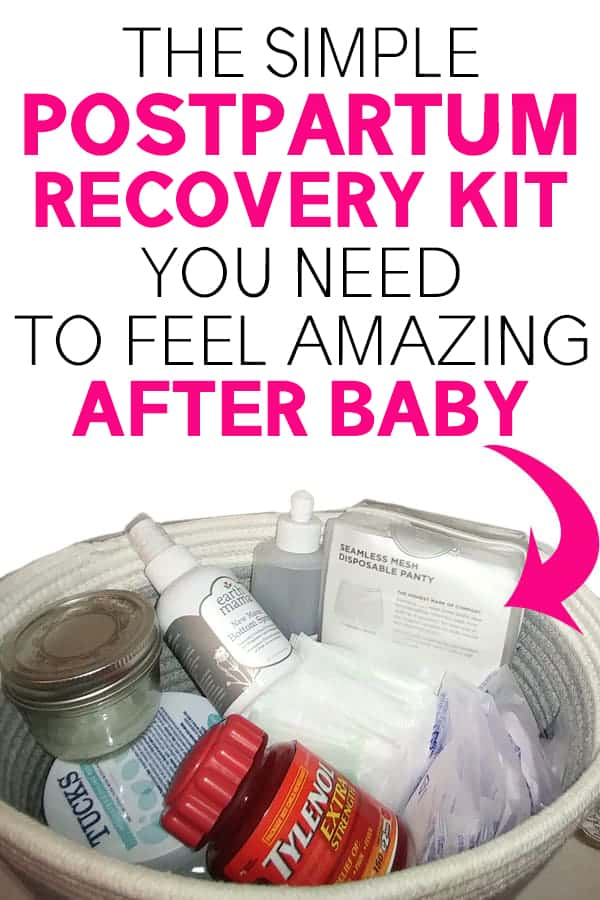 postpartum recovery essentials for mom