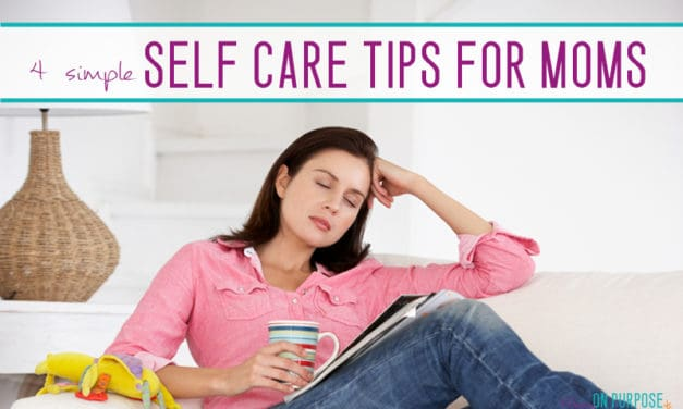 4 {Beyond Easy} Self-Care Tips for Busy Moms