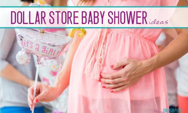 Genius Dollar Store Baby Shower Ideas