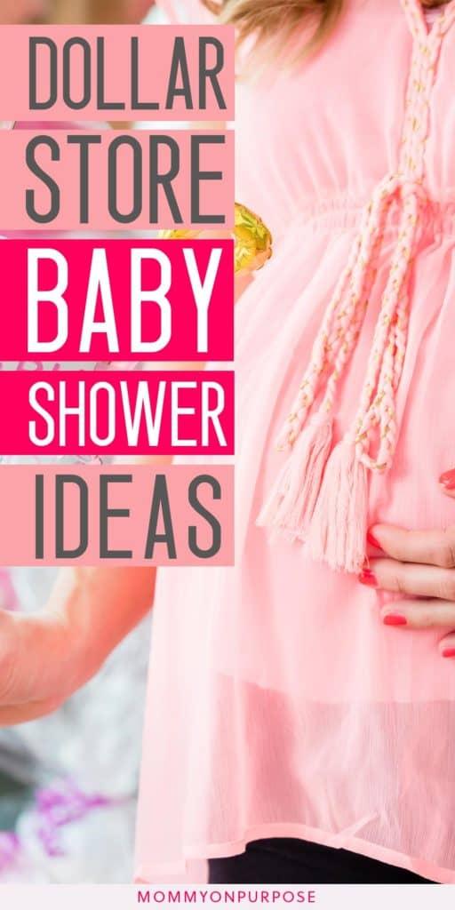 baby shower dollar store ideas pinterest pin