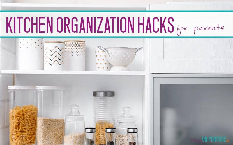 15 Easy And Unique Kitchen Organization Ideas Mommy On Purpose