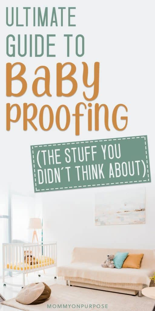 baby proofing pinterest pin