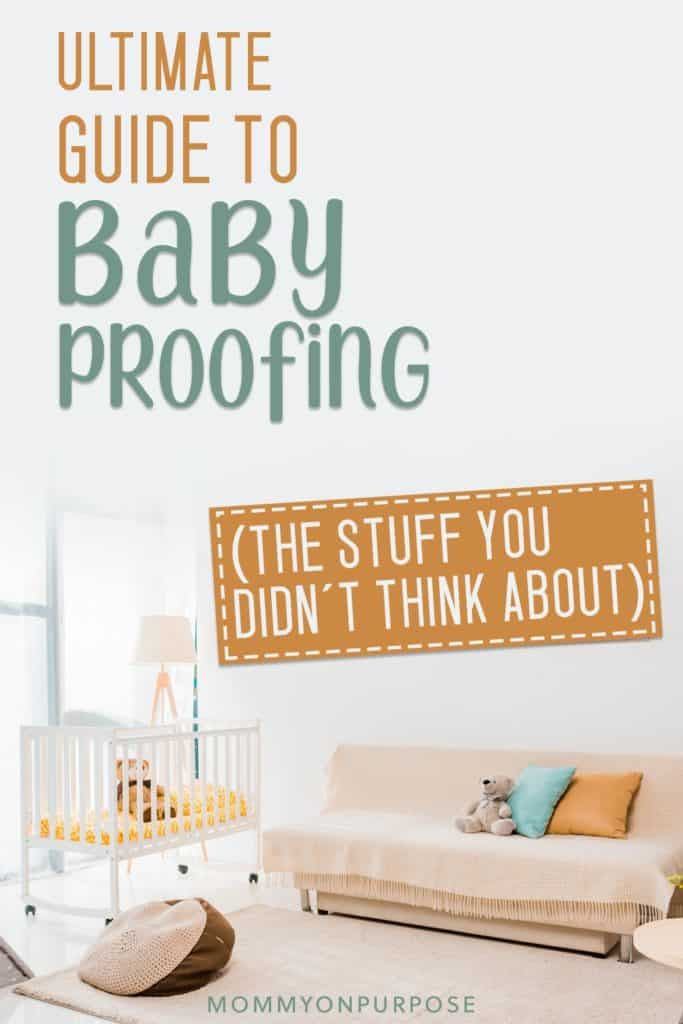 baby proof pinterest pin