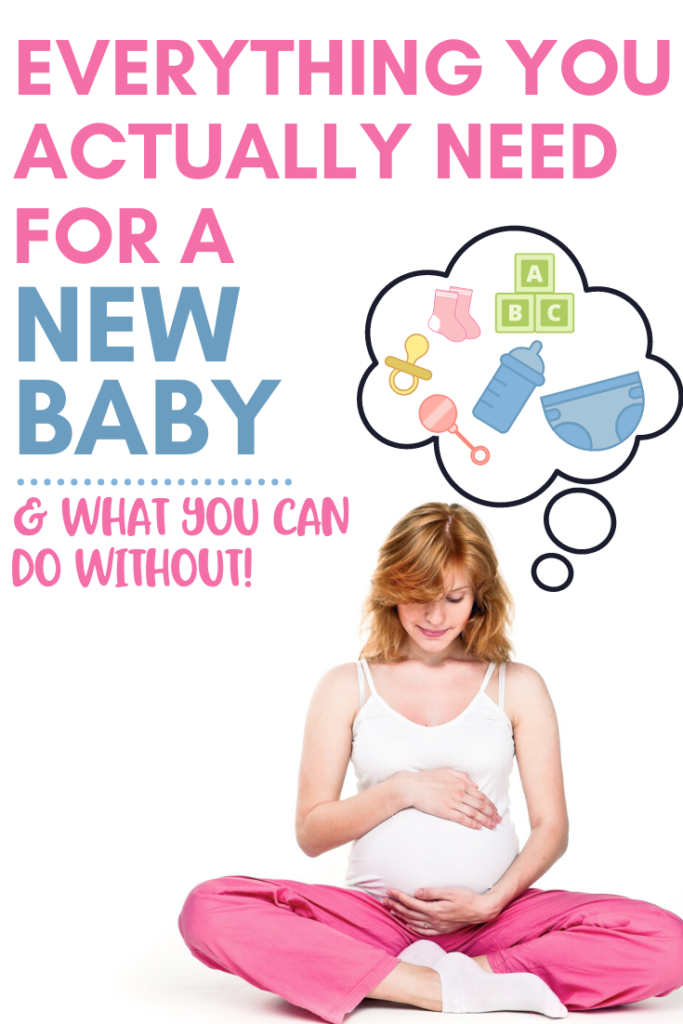 new baby necessities list