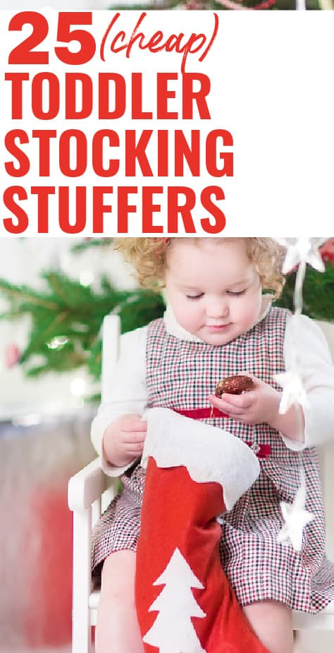 cheap toddler stocking stuffer ideas