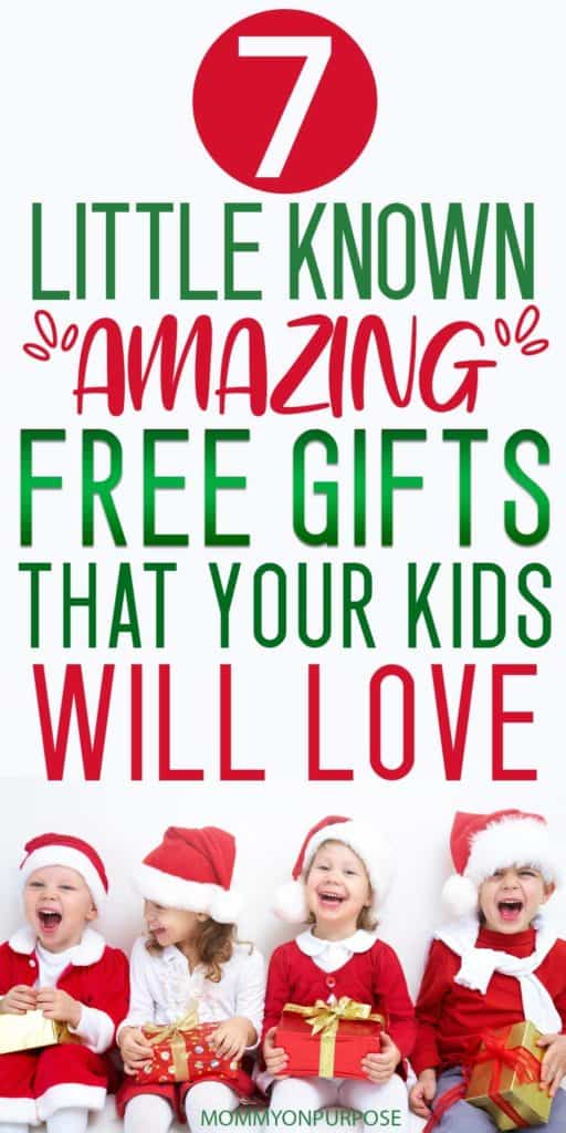 free christmas gifts for kids - make christmas magical for your family - best christmas gifts in 2019