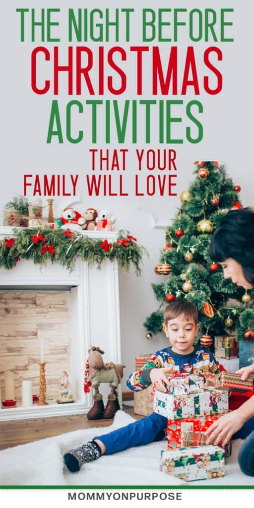 Here are some meaningful christmas eve activities that you're family will love. Kids or no kids, these holiday ideas will help make this time of year more special #christmas #christmaseve #family #motherhood #holidays #mommyonpurpose