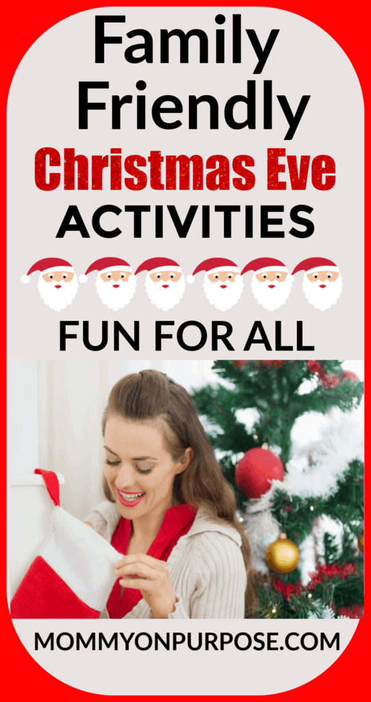 Family Friendly Christmas Eve Activities