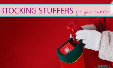 25+ Toddler stocking stuffer ideas under $10