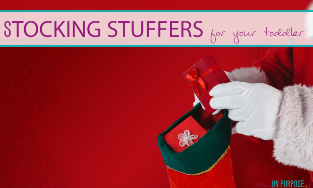 25+ Toddler stocking stuffer ideas under $10