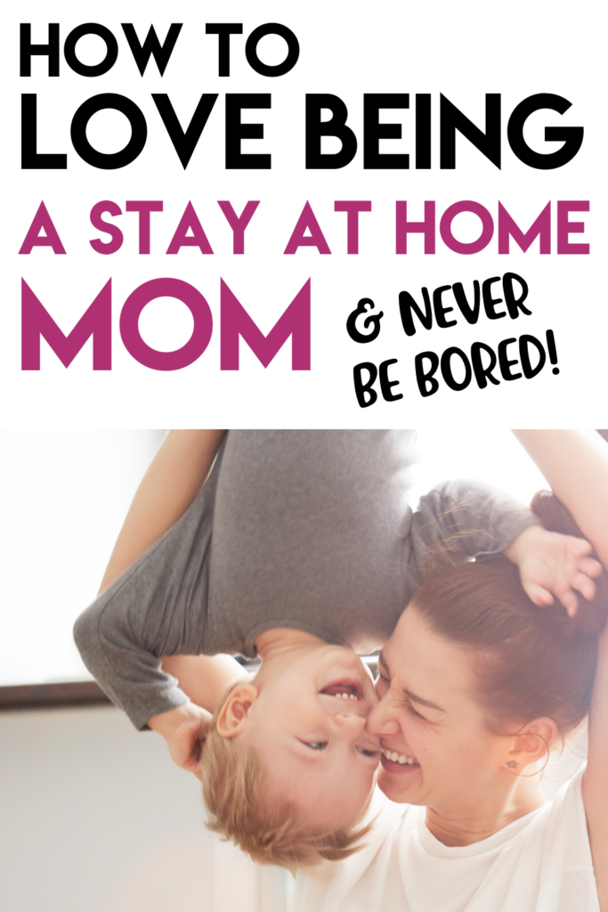 Stay at home mom life can be HARD - this is the one thing that makes me LOVE being a stay at home mom, (and it's not having a more organized schedule or getting out of the house). Avoid the stay at home mom blues and get past the struggles!
