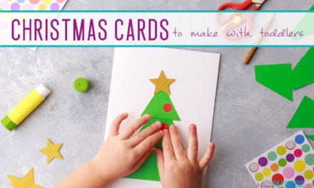 Christmas Cards for Toddlers to Make