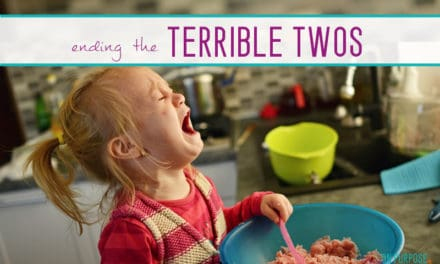 "How We Cured The ""Terrible Twos"" in One Day"
