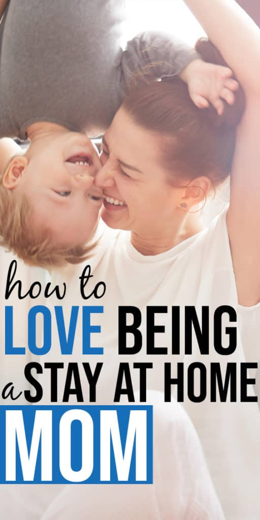 how to enjoy being a stay at home mom - there are all kids of struggles when you are at home with kids all day, there lots of truth to the fact that it's not always enjoyable! This one thing I do makes all the difference to my being able to enjoy life as a stay at home mom. #momlife #stayathomemom #SAHM #WAHM #mom #mommy #kids