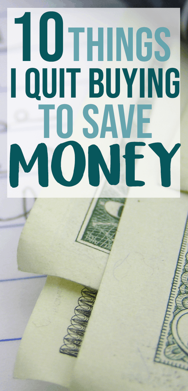 saving money fast
