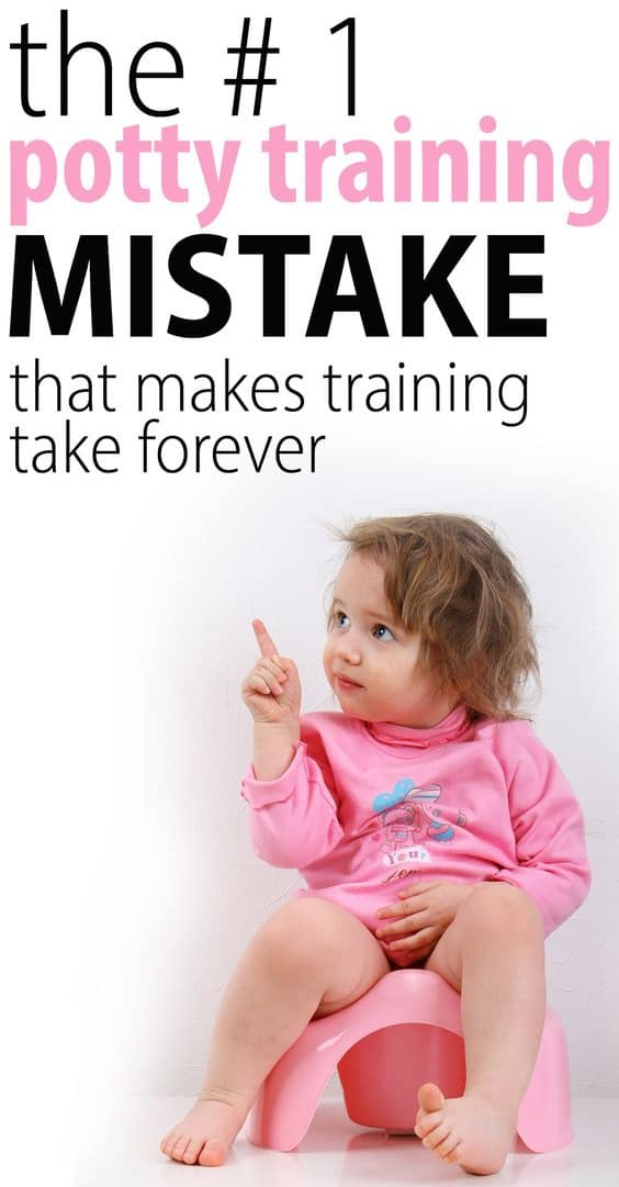 potty training mistakes