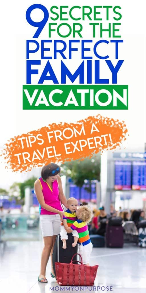 pinterest pin tips for perfect family vacation