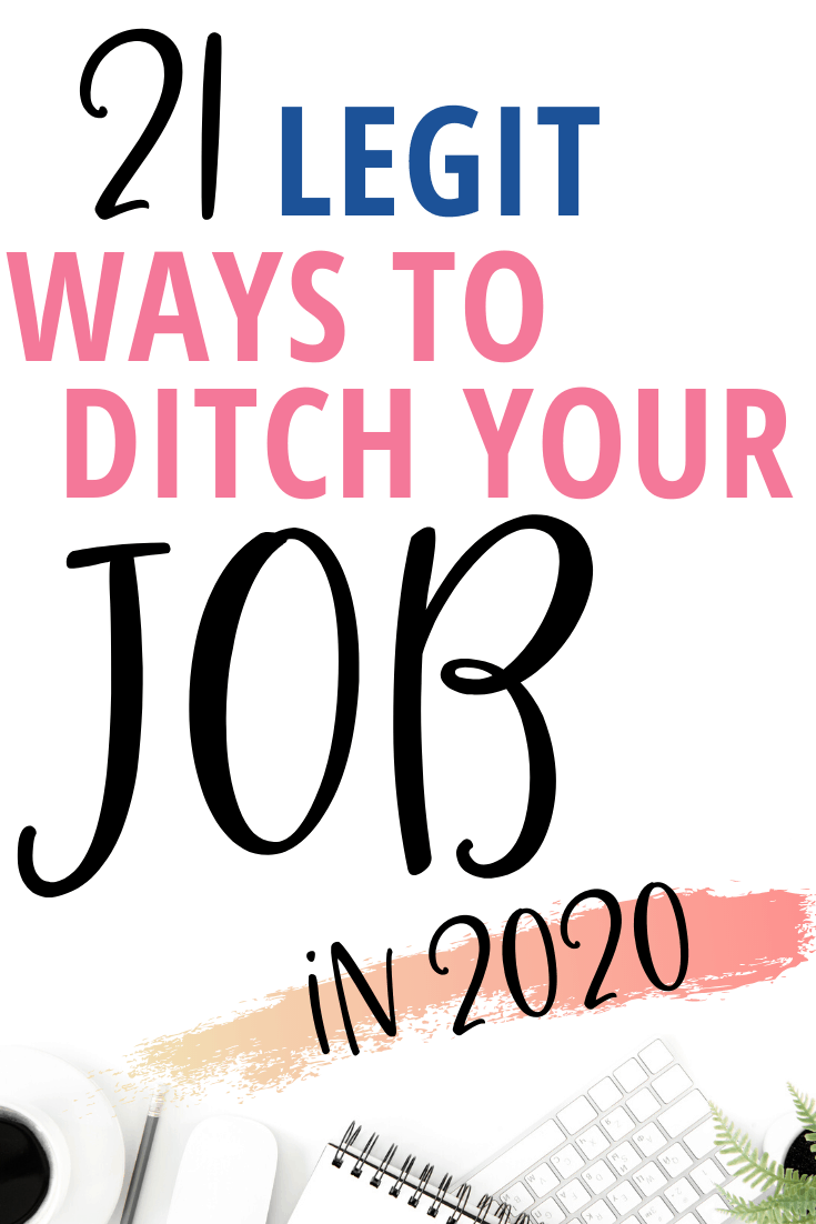 work from home jobs perfect for moms or anyone who wants to quit their job! These are legitimate jobs and most require no experience and no degree! You can also do them part time as a side hustle!