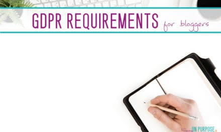 GDPR Consent Requirements for Bloggers