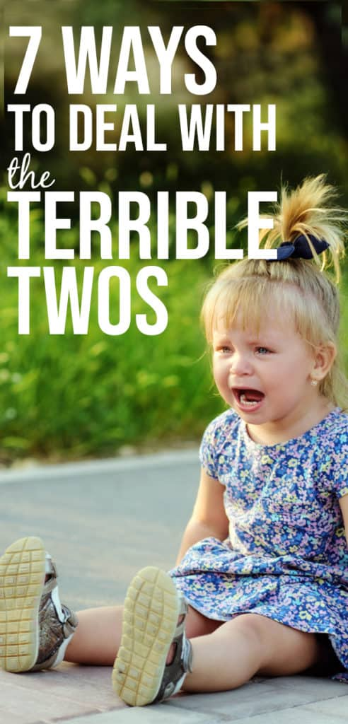 how to deal with the terrible twos