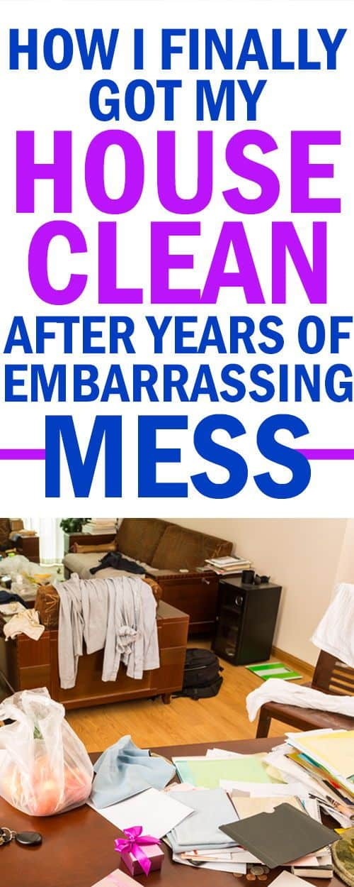 cleaning up an overwhelming mess