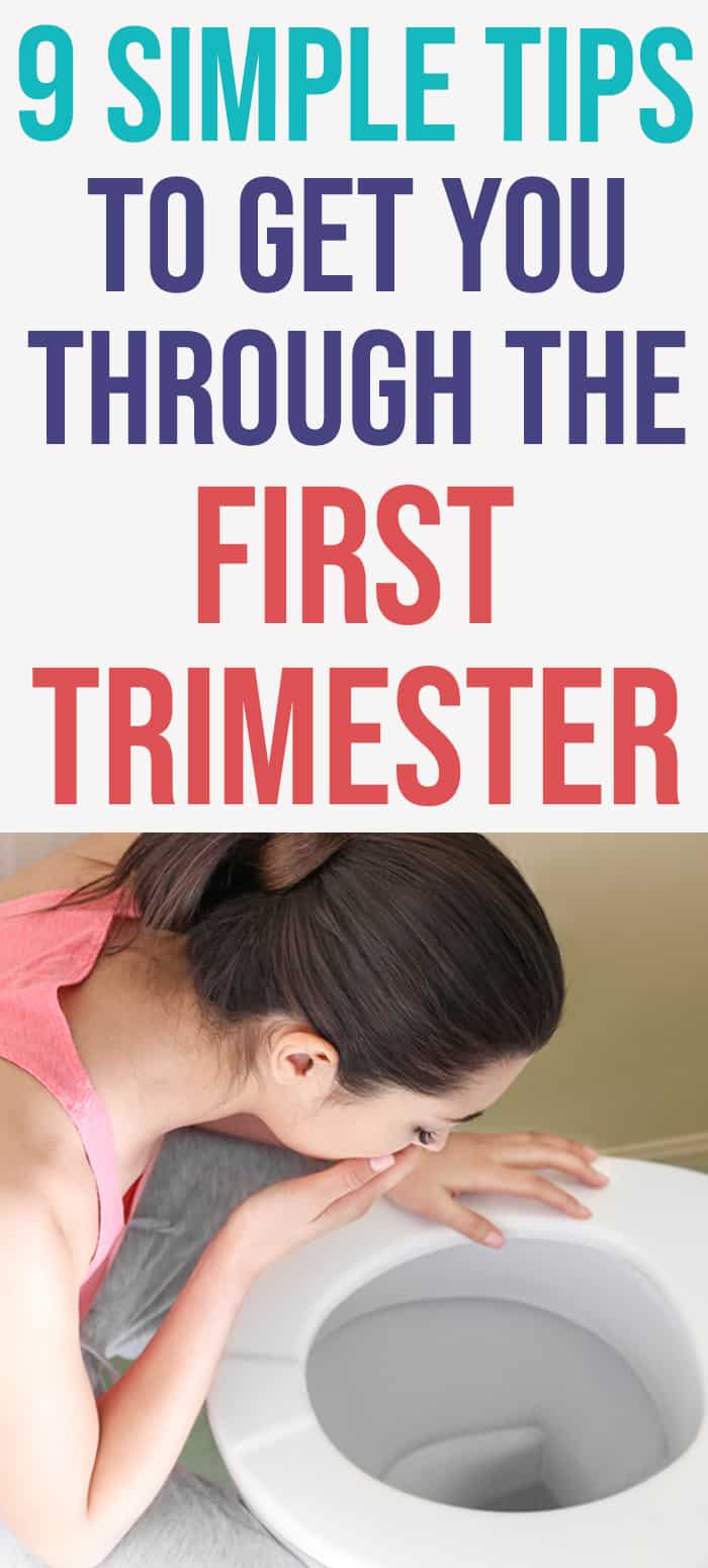 first trimester survival tips
