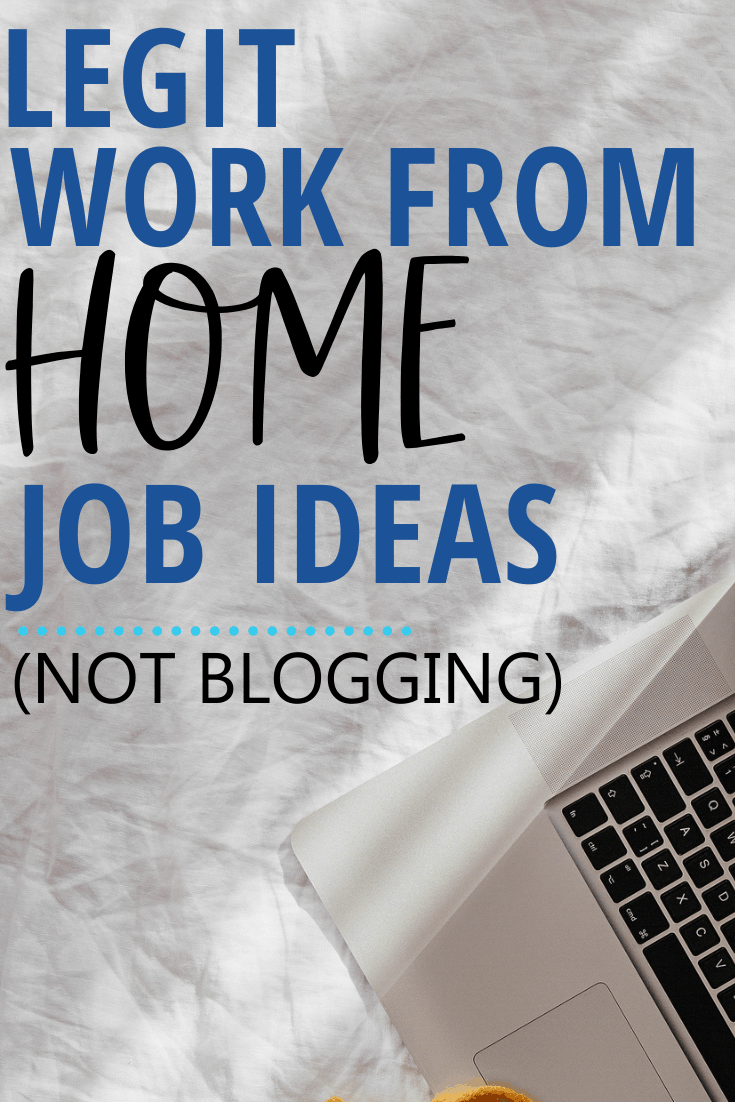 easy work from home ideas for moms or anyone else who would like to make money from home! Great ideas for extra income also.