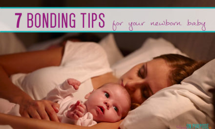 7 Tips for Bonding with your Newborn Baby