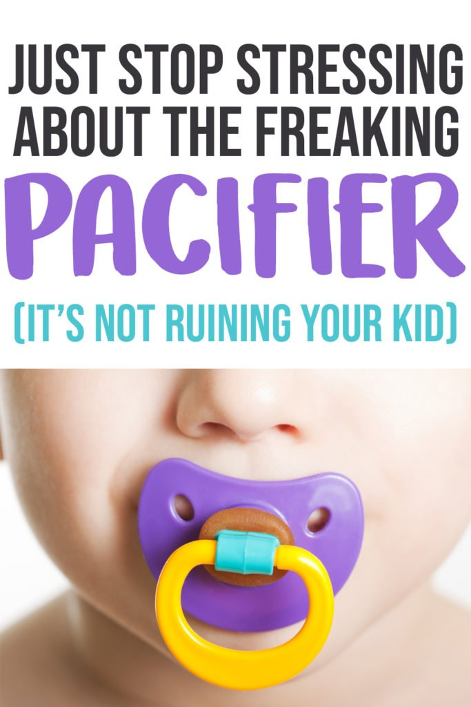 pacifier pros and cons