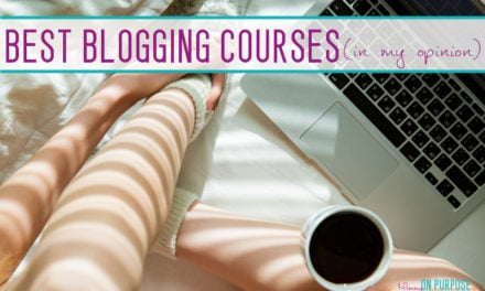 The Best Blogging Courses (that helped me become a 6 figure blogger)