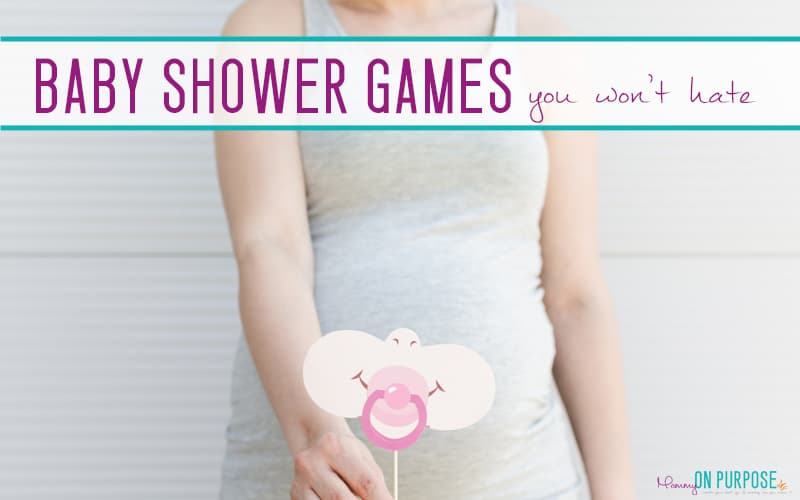 Baby Shower Games (that don't totally suck)