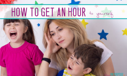 7 Ways to Get One Hour to Yourself (When You Have Small Kids)