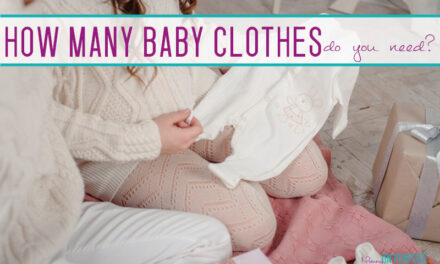 How Many Baby Clothes Do I Need in Each Size?