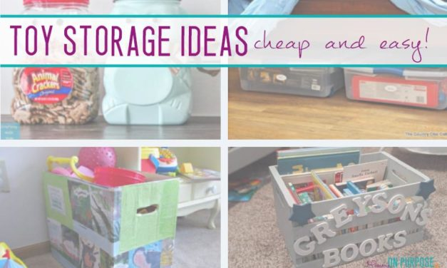7 Brilliant Cheap Toy Storage Ideas