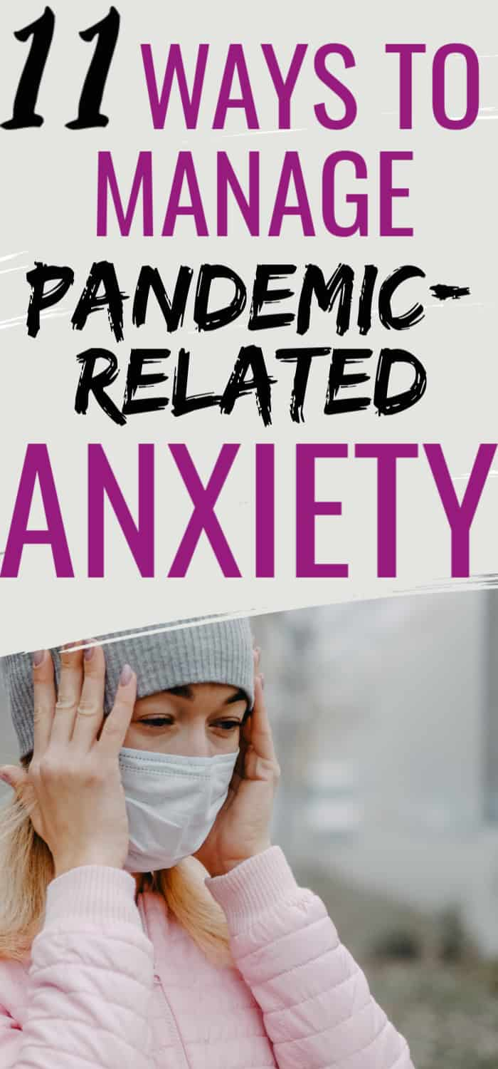 how to manage anxiety about the pandemic