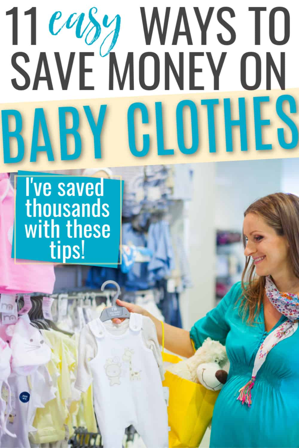 baby clothes on a budget