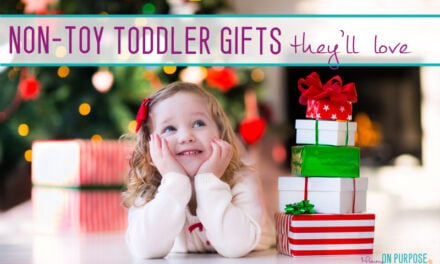 Christmas Gifts for Toddlers (That Aren't Toys)