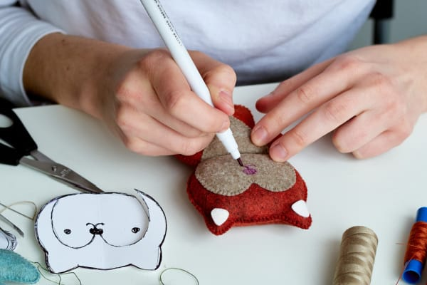 sewing stuffed toys is a great hobby