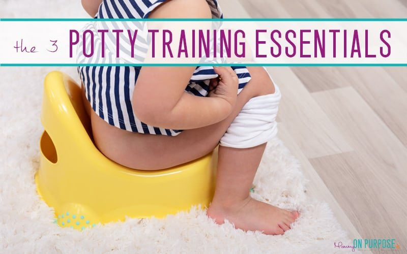 The ONLY 3 Potty Training Supplies You Actually Need